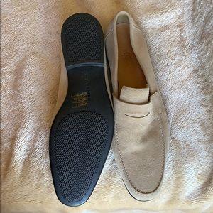 Hermes Shoes - NIB HERMÈS MENS SUEDE LOAFERS 42.5 RARE